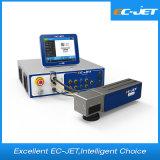Impressora de laser da fibra da máquina da marcação do código do grupo para o plástico (EC-laser)