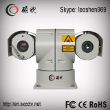 20XズームレンズCMOS 2.0MP 300mの夜間視界レーザーHD IP PTZ CCTVのカメラ