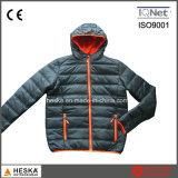 Hiver Nylon matelassé rembourré Mens Insulated Jacket