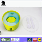 Bunter Eis-Satz-Plastikbehälter-Mittagessen-Kasten