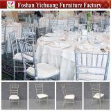 Silla Wedding al por mayor de Tiffany con el amortiguador de asiento de la PU Yc-A21-11