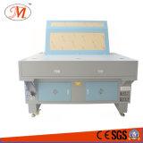 De drievoudige Scherpe Machine van de Laser van Hoofden voor TextielKnipsel (JM-1590-3T)