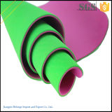 Material 100% de la estera de la yoga de la TPE de la promoción de ventas Rolls