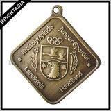 昇進のギフト(BYH-10174)のための品質亜鉛合金の大きいメダル