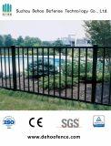 Syndicat de prix ferme d'intimité galvanisé par noir en métal clôturant avec la qualité