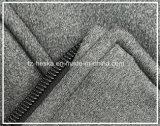 Long pull molletonné fait sur commande neuf de gris d'hommes de Softshell de chemise