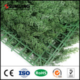 Artificial Hedge valla verde hiedra hierba de jardín