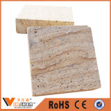 الصين حجر رمليّ يرصف حجر رمليّ رخيصة طبيعيّة خشبيّة أصفر