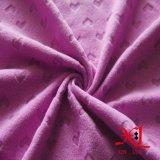 связанная 100%Polyester приполюсная ткань ватки для теплого тканья пальто