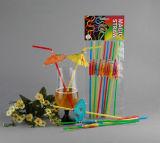 칵테일 파티 우산 당, 음료를 위해 중대한 열대 음료 밀짚 -