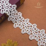 Weiße Farben-schönes afrikanisches Spitze-Gewebe für Vorhang/Kleid