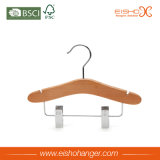 Walnut cabritos percha con clips