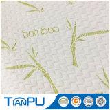 Tela que hace tictac hecha punto antimicrobiana del colchón de bambú de las ventas al por mayor