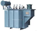 Transformateur électrique de 3 phases de pouvoir immergé dans l'huile Pôle-Monté par vente chaude avec l'enroulement de cuivre