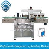 Машина для прикрепления этикеток бутылок масла автоматического стикера промышленная квадратная бортовая поверхностная