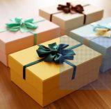 Цветастая Handmade коробка подарка бумаги офсетной печати для упаковывать подарка