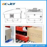 Máquina de impressão por código de lote Impressora a jato de tinta para impressão de cartão (EC-DOD)
