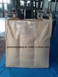 Sacs enormes flexibles de la cloison beige FIBC de doublure de PE pour la poudre de empaquetage d'amidon