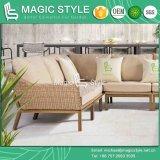 Sofà di combinazione con il sofà esterno dell'ammortizzatore che tesse da Wicker