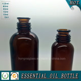 Янтарная бутылка масла 125ml сути раструба 200ml
