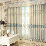 装飾的なシュニールの刺繍の停電の窓カーテン(20W0002)