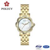 2016 de Elegante Vatting van de Diamant voor de Dames van de Horloges van het Kristal van de Vrouwen van de Douane van het Horloge