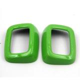 Couverture arrière protégée UV matérielle de ceinture de sécurité de type de couleur verte ABS de tout neuf pour le membre d'un club F54 (2PCS/Set) de Mini Cooper