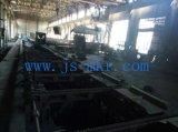 Используемая стойка машины стальной завальцовки 4 от пакгауза фабрики