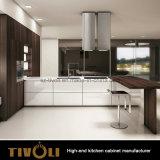 島の台所家具(AP037)が付いている高い食料貯蔵室の食器棚で構築される