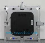 Tela de indicador de alumínio de fundição cheia interna do diodo emissor de luz do arrendamento da cor P4.8