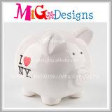 El OEM Al por mayor precioso Cerdo en forma de hucha de cerámica