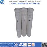 Каландрировать и подпаленный мешок пылевого фильтра полиэфира мешка воздушного фильтра