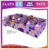 SGS&Ce доказало оборудование спортивной площадки зоны малыша крытое мягкое (QL--021)