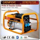 De open Generator van de Lasser van de Benzine van de Enige Fase van het Ontwerp van het Type Nieuwe Elektrische 200A voor Verkoop