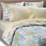 型は印刷されるポリエステル羽毛布団カバーセットパターンによって衰退する