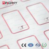 Embutido ultraligero de la tarjeta inteligente del PVC de C 6*10 RFID