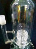 Pipes de fumage AA-85 en verre avec la qualité de conduites d'eau