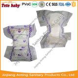 Tecido descartável unisex absorvente super do bebê