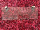 Glasregal-Dusche-kleine Glasform mit freier Farbe
