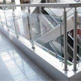 Disegno personalizzato di prezzi di fabbrica per l'inferriata dell'interno del balcone di vetro Tempered