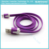 кабель USB 1m/2m/3m цветастый быстрый поручая для телефонов Android Samsung