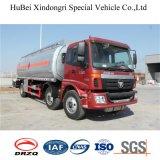 caminhão do depósito de gasolina do euro 4 de 25cbm 4*2 6*4 Foton