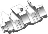 Прессформа заливки формы для картера