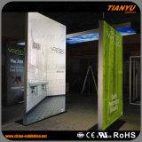 Frameless que hace publicidad de la cabina de aluminio de la feria profesional de la tela