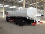 북쪽 벤츠 6X4 20 Cbm 입방 물 탱크 손수레 트럭