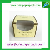 Windowsが付いているカスタム贅沢な香水のペーパー折るボックス
