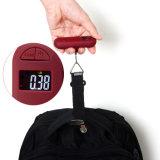 Peso de Bagagem de Suspensão Digital de 50 kg com Escala de Alça e Gancho