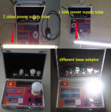 LED-Demo Fall-Cct u. Lux-u. Energien-Messinstrument