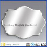 銀の上塗を施してあるミラーからのさまざまな形の斜めミラー