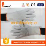 Многоточия 2017 PVC перчаток хлопка Ddsafety связанные полиэфиром